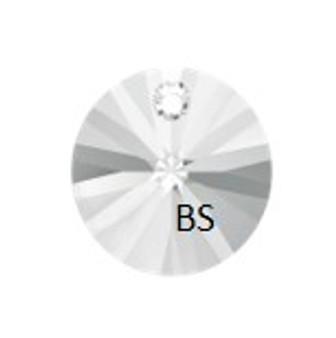 8mm Swarovski 6428 Crystal Xilion Round Pendant
