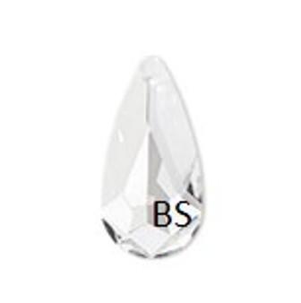 24x12mm Swarovski 6100 Crystal Navette Pendant