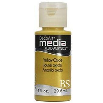 DecoArt Media Fluid Acrylics - Yellow Oxide (Series 1)