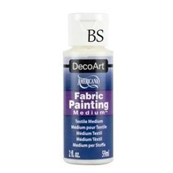 DecoArt fabric painting medium