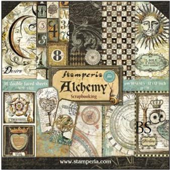 Stamperia Paper Pad - Alchemy