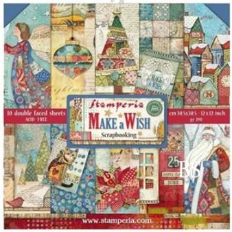 Stamperia Paper Pad - Make A Wish
