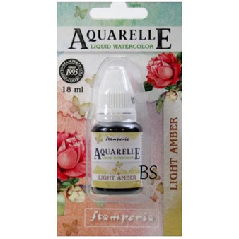Stamperia Aquarelle Light Amber