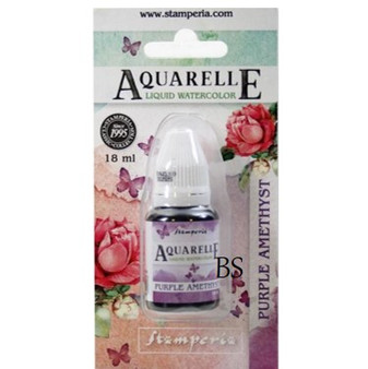 Stamperia Aquarelle Watercolour Purple Amethyst