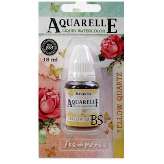 Stamperia Aquarelle Watercolour Yellow Quartz