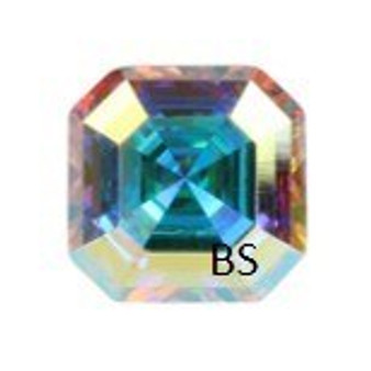6mm Swarovski 4480 Crystal AB Imperial Fancy Stone