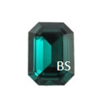 14x10mm Swarovski 4610 Emerald Octagon Fancy Stone