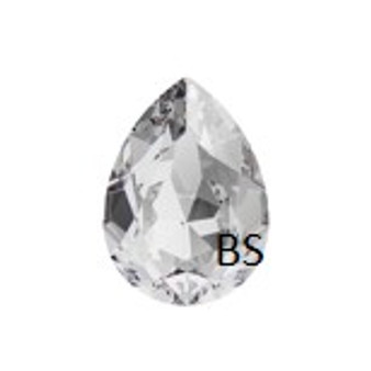 14x10mm Swarovski 4320 Crystal Pear Fancy Stone