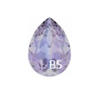 18x13mm Swarovski 4320 Provence Lavender Pear Fancy Stone