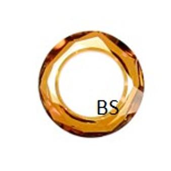 Swarovski 4139 Cosmic Ring Fancy Stone Crystal Copper 14mm