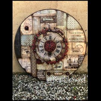 Time Travel Chipboard Set by Antonis Tzanidakis