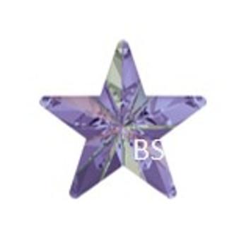 10mm Swarovski 4745 Crystal Vitrail Light Rivoli Star Fancy Stone