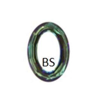15x11mm Swarovski 4137 Crystal Sahara Cosmic Oval Fancy Stone