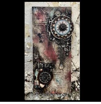 Mechanical Violin Chipboard by Antonis Tzanidakis