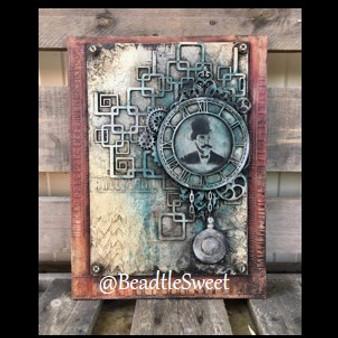 Steampunk Man Chipboard by Antonis Tzanidakis