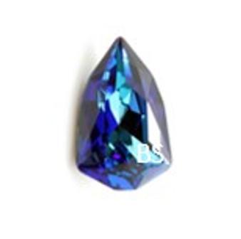 24x15.2mm Swarovski 4707 Crystal Bermuda Blue Slim Trilliant Fancy Stone