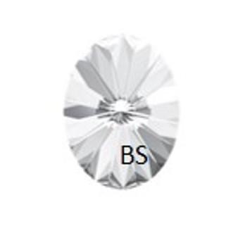 8x6mm Swarovski 4122 Oval Rivoli Fancy Stone Crystal