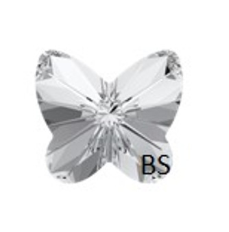10mm Swarovski 4748 Crystal Rivoli Butterfly