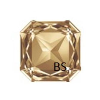 23mm Swarovski 4675 Crystal Golden Shadow Square Fancy Stone