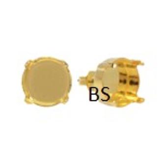 Swarovski 1122 Gold Plating Earring Stud 12mm