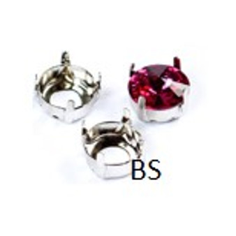 Silver Plating Open Setting 8mm/ss39