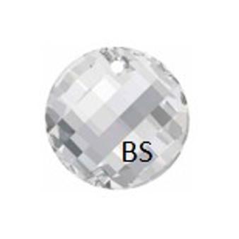 18mm Swarovski 6621 Crystal Twist Pendant