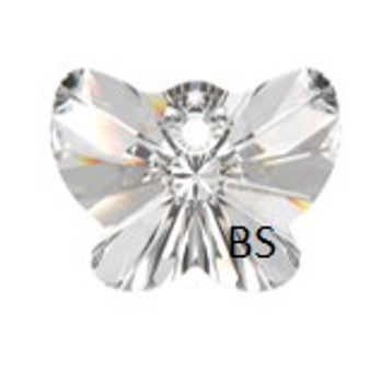 18mm Swarovski 6754 Crystal Butterfly Pendant