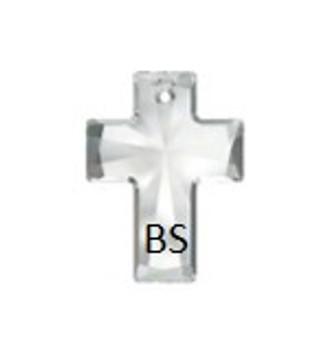 40x30mm Swarovski 6864 Crystal Cross Pendant