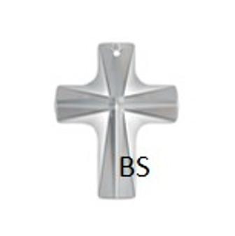 20x16mm Swarovski 6860 Crystal Crossed Shape Pendant