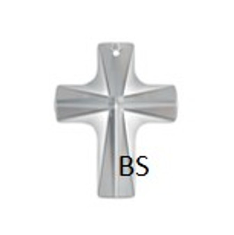 12x10mm Swarovski 6860 Crystal Crossed Shape Pendant