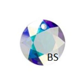 10mm Swarovski 6430 Crystal AB Classic Cut Crystal Pendant