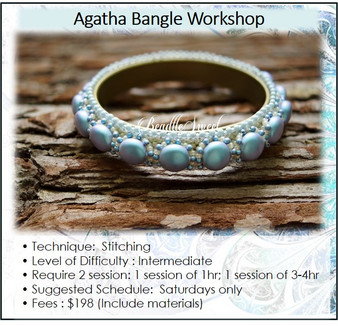 Jewellery Making Course : Agatha Bangle Workshop