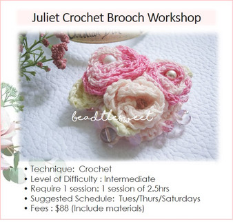 Jewellery Making Course : Juliet Brooch Workshop
