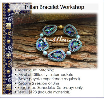 Jewellery Making Course : Trillan Bracelet Workshop