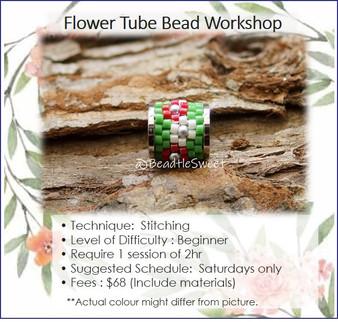 Jewellery Making Course : Flower Tube Bead Workshop