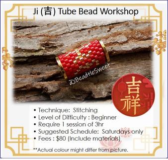 Jewellery Making Course : Ji (吉) Tube Bead Workshop