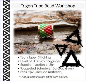 Jewellery Making Course : Trigon Tube Bead Workshop