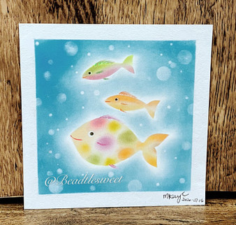 Nagomi Pastel Art : Spot the Fish
