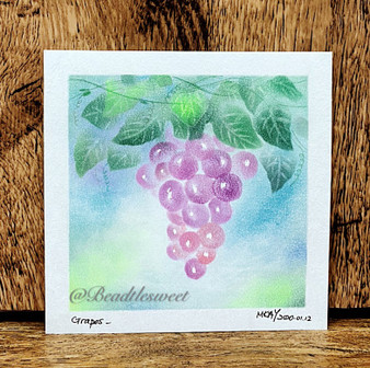 Nagomi Pastel Art : Grapes