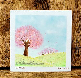 Nagomi Pastel Art: Spring