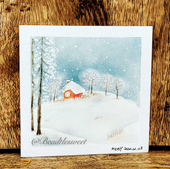 Nagomi Pastel Art: Winter