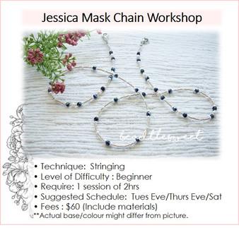 Jewellery Making Course: Jessica Mask Chain Making Workshop