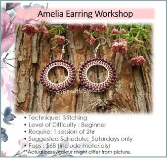 Jewellery Making Course: Amelia Earring Workshop