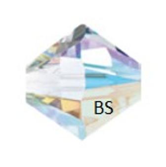 6mm Preciosa MC Rondelle Bead Crystal AB 451 69 302