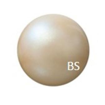 8mm Preciosa Round Pearl Maxima Pearlescent Yellow Pearls