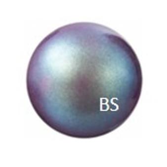 6mm Preciosa Round Pearl Maxima Pearlescent Violet Pearls