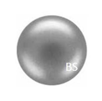 8mm Preciosa Round Pearl Maxima Light Grey Pearls