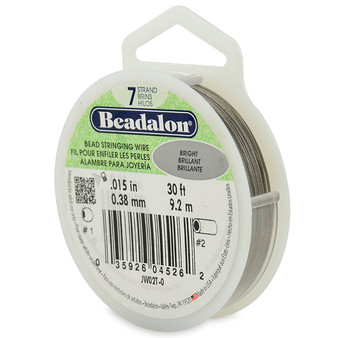 Beadalon 7 Strand 0.38mm Bright