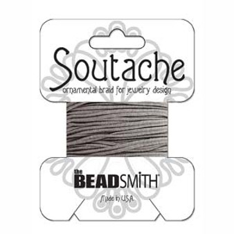 Soutache Rayon Braided Cord (Smog)