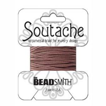 Soutache Rayon Braided Cord (Beaver Brown)